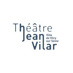 logo theatre jean vilar vitry-noir